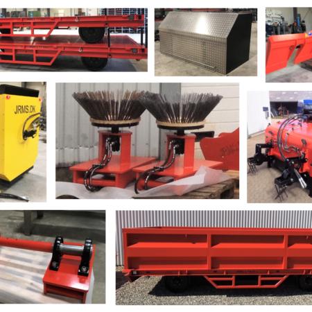 Utrustning Grävmaskin & Traktorgrävare